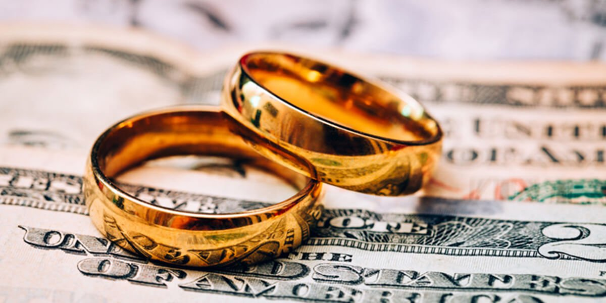 two wedding bands on money - financial and divorce planning services farmington CT