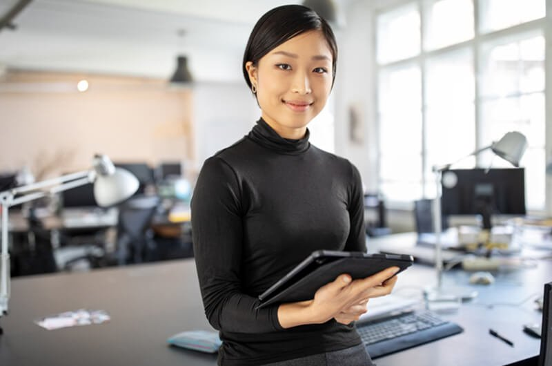 confident asian businesswoman - best rated entrepreneur wealth planning services in farmington CT