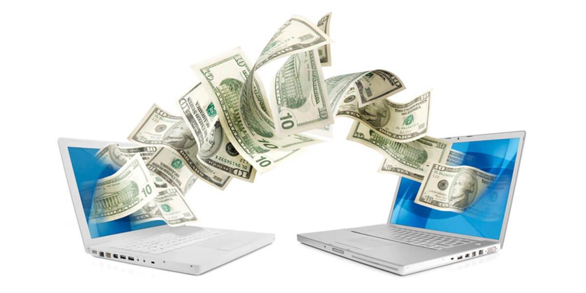 laptops sending money concept - wealth building planning services in farmington CT