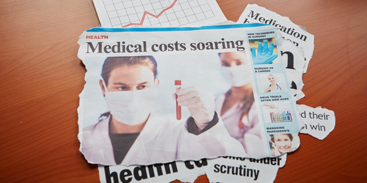 newspaper articles soaring costs headlines - 4 tips to save money on healthcare expenses farmington