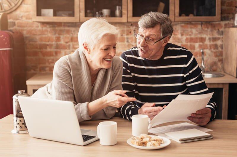 senior couple planning - financial planning services for seniors farmington CT